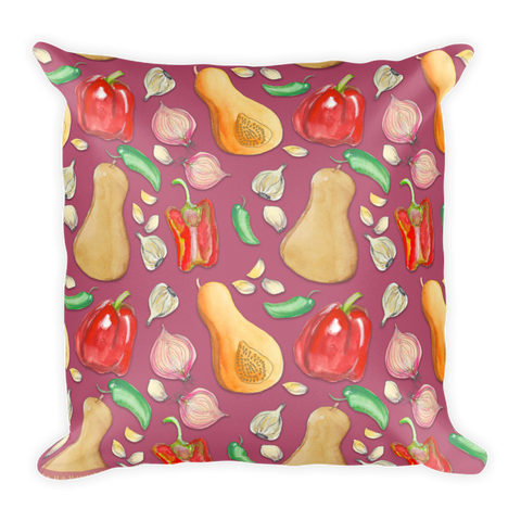 Vegetable Pillow for the Vegan Chef in Your Home