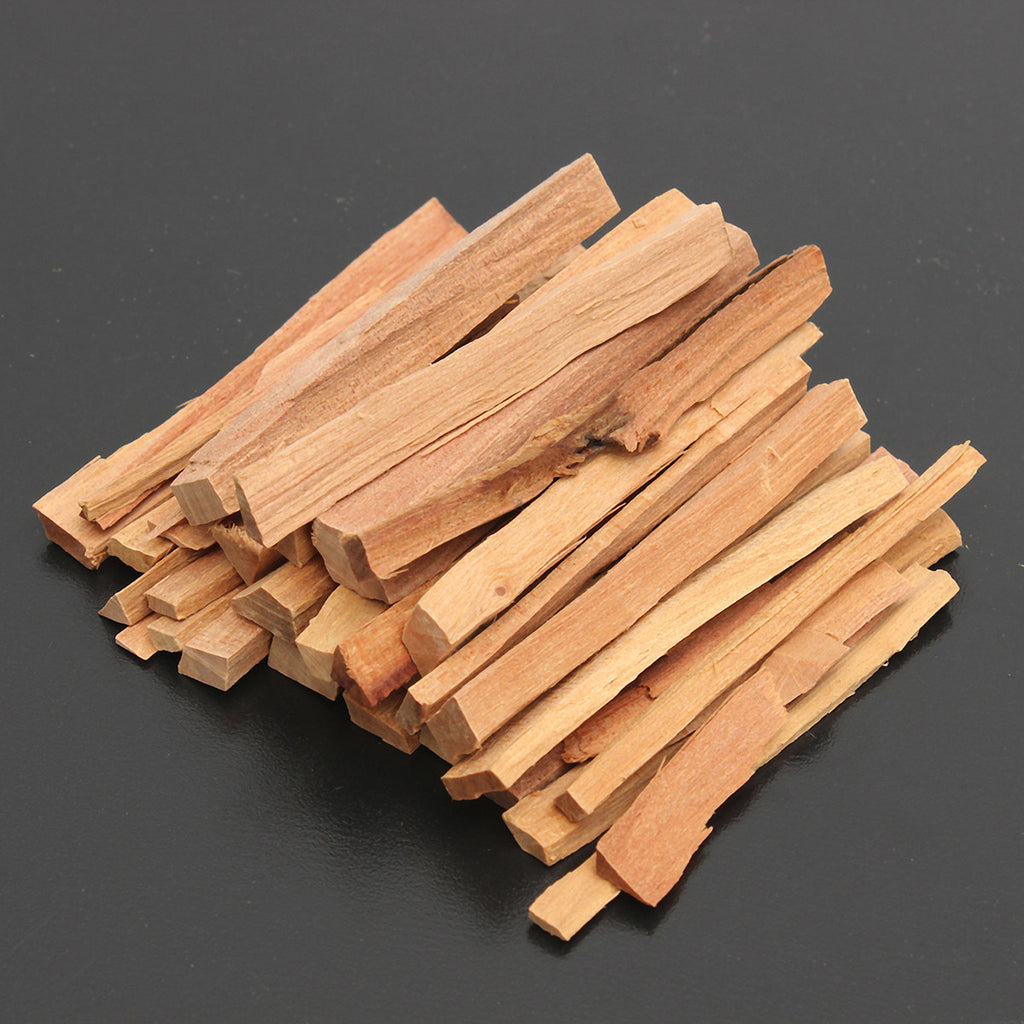 50g Sandalwood Wood Incense Sticks Irregular Resin Incense Fragrances 25 ~ 30pcs