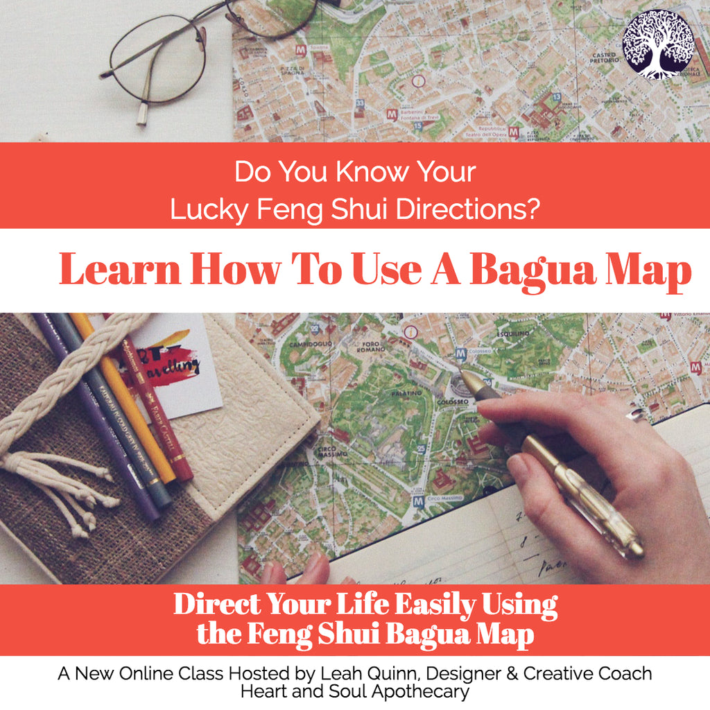 Direct Your Life Your Way By Using a Feng Shui Bagua Map