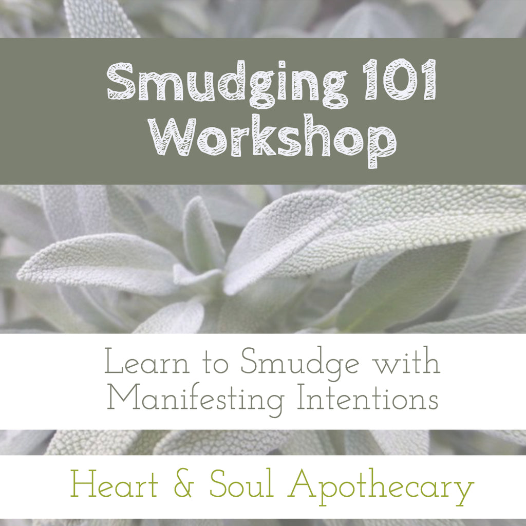 Smudging 101 Creative Workshop