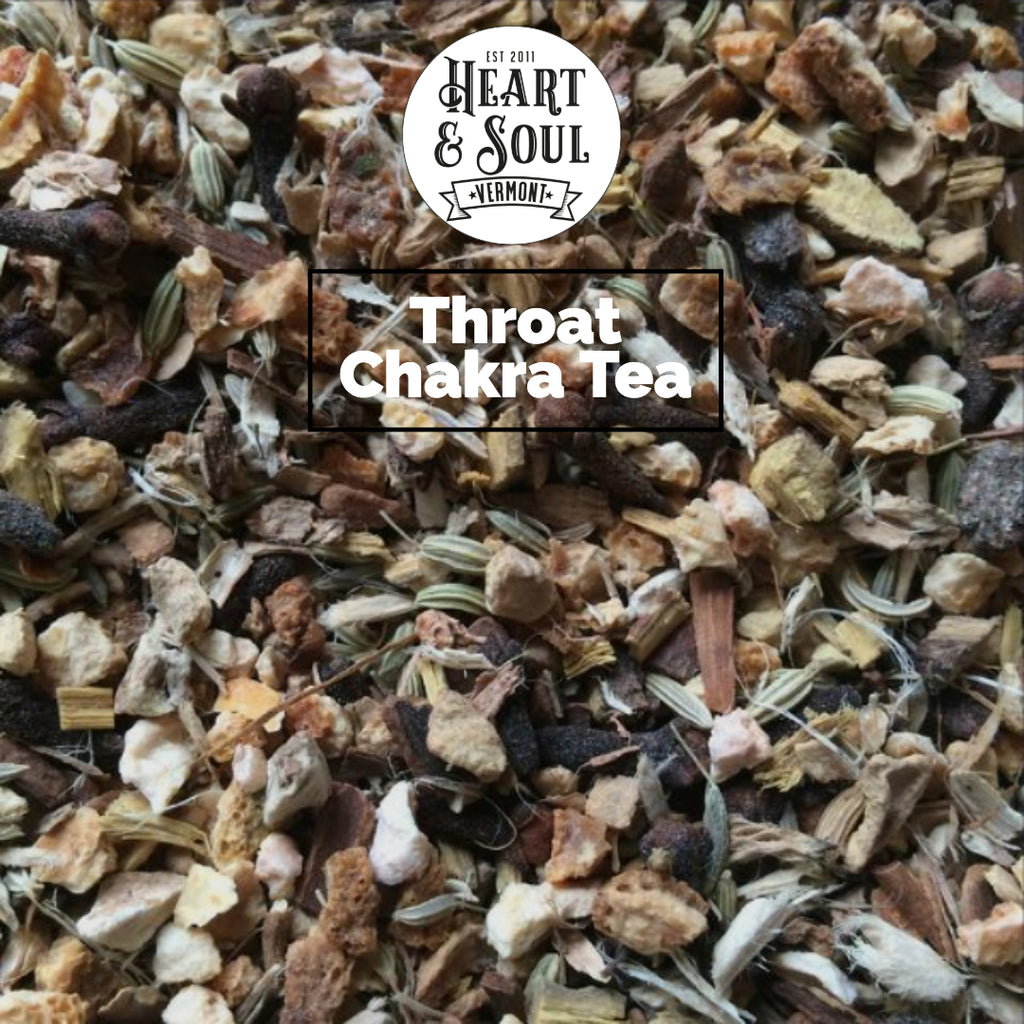 Throat Chakra Tea - A Herbal Root Blend - Heart and Soul Apothecary