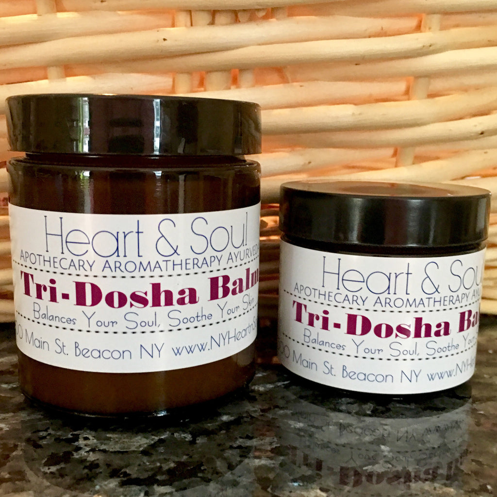 Tri-Dosha Balm Made Exclusively by Heart and Soul Apothecary