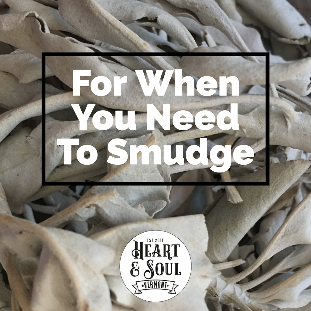 Loose White Sage 1oz For Use in Smudging & Teas
