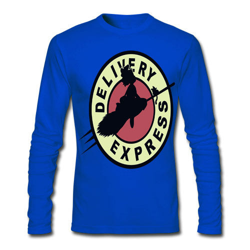 Express Royal Blue Full Sleeve Tee