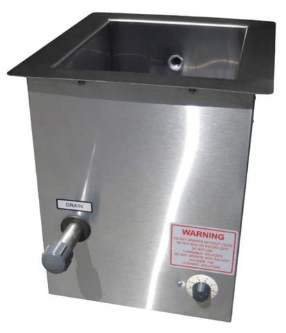 Branson Ultrasonic Tank, Series 8000, 10 to 50 gallons