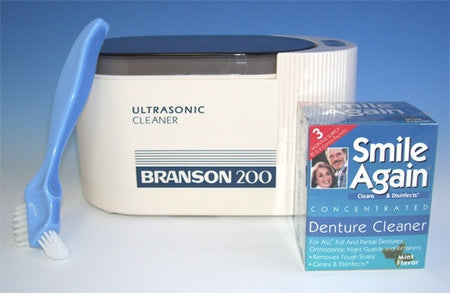 ultrasonic denture cleaning kit