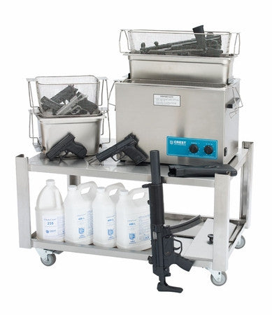 Ultrasonic Gun Cleaner: Model F-2600HTL