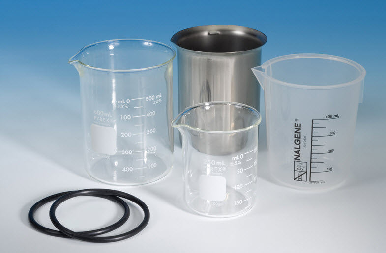 ultrasonic cleaning beakers