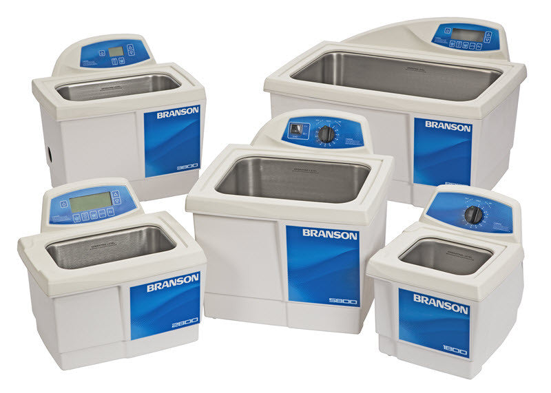Branson Ultrasonic Cleaners