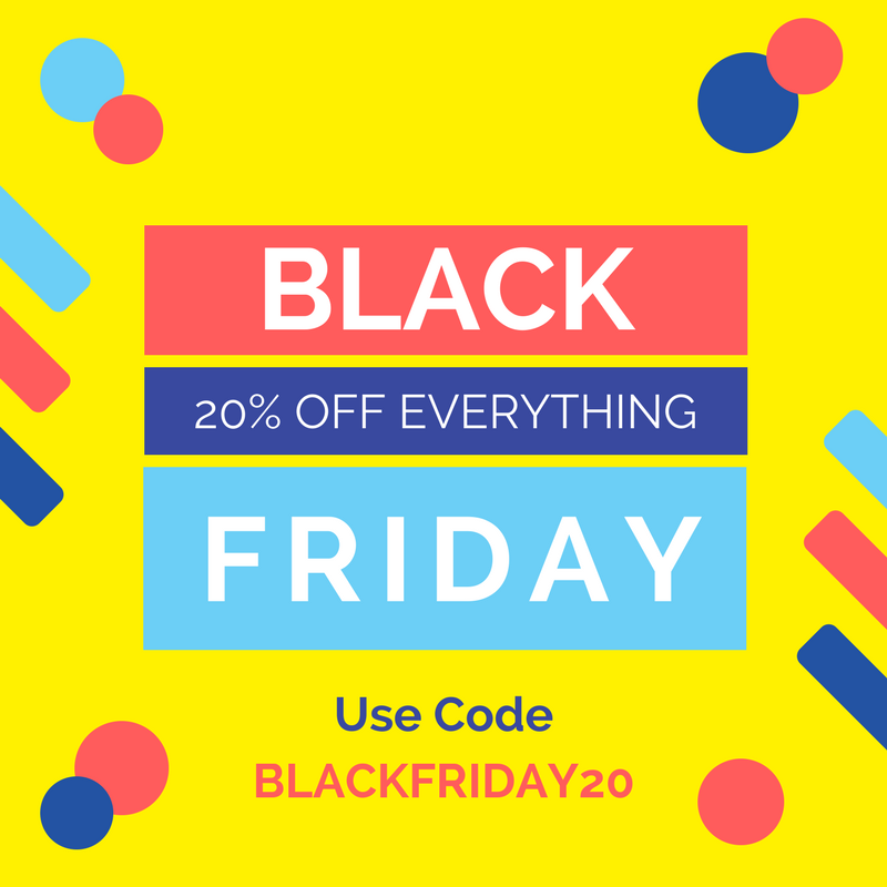 Black Friday - 20% Off Everything