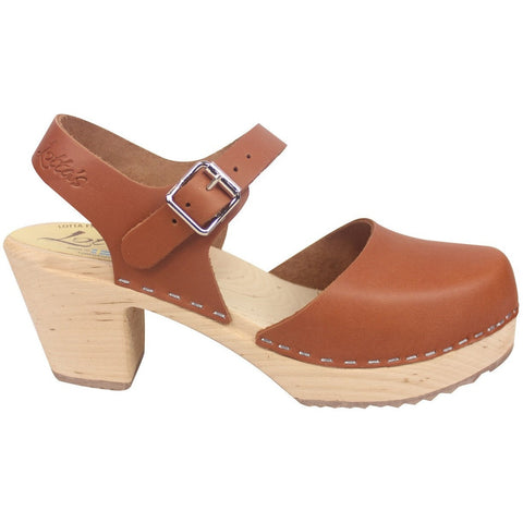 'Bo' Highwood Swedish Clogs - Tan