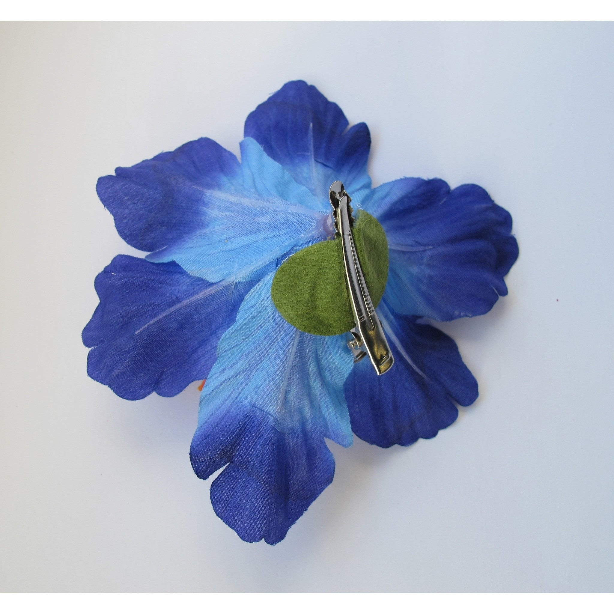 Blue hibiscus flower for hair best flower 2017 hibiscus flower hair clip claire s jewels izmirmasajfo Images
