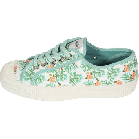Novesta Trainers in Palm Leaves Print