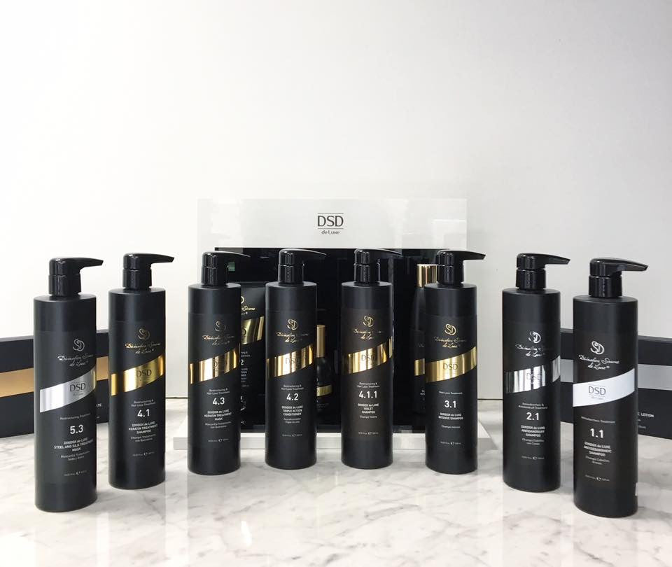 Dixidox de Luxe Keratin Treatment Shampoo  4.1, 500ml - dsddeluxe