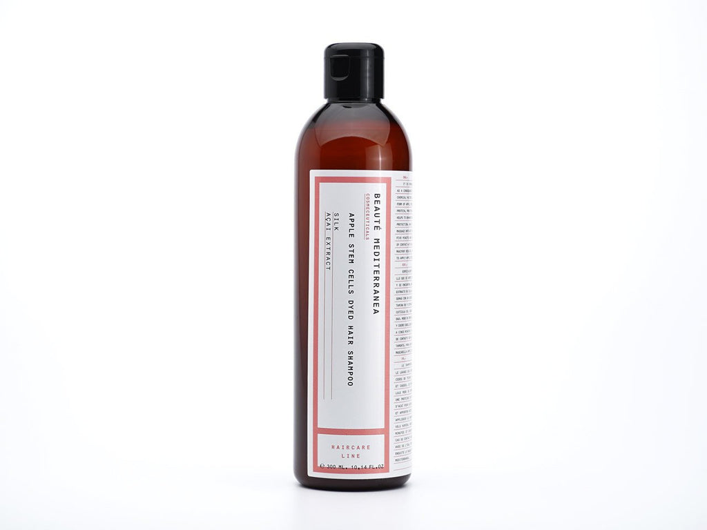 APPLE STEM CELLS DYED HAIR SHAMPOO - dsddeluxe