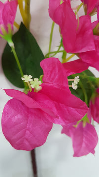 Artificial bougainvillea branch (Fuchsia) (Length: 120cm)
