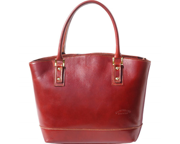 "Hard Calf Leather ""TOTE"" Handbag-204"
