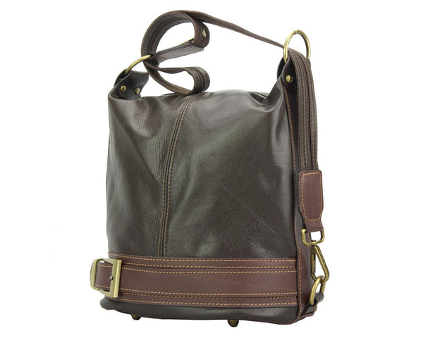 Bucket backpack purse transformable in bucketbag-300