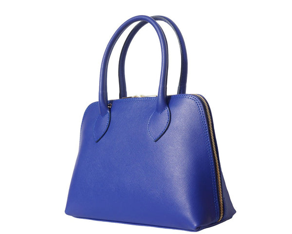 Saffiano Leather Top-Handle Bag