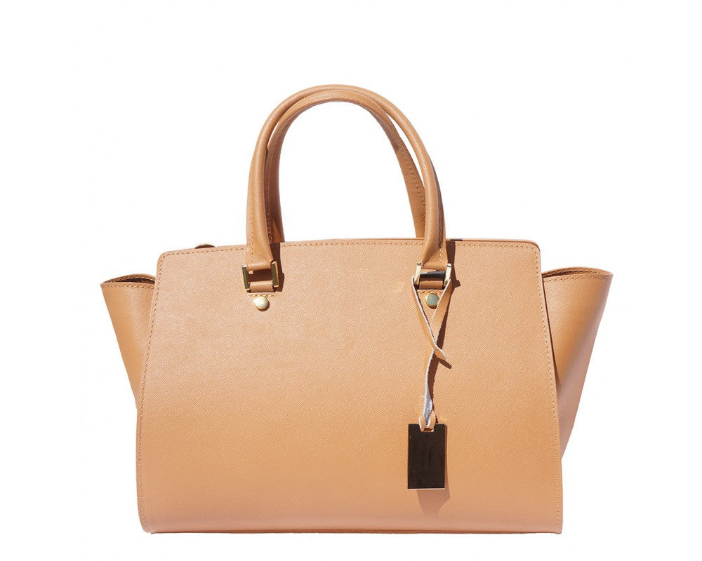 Exclusive Saffiano leather handbag-8060