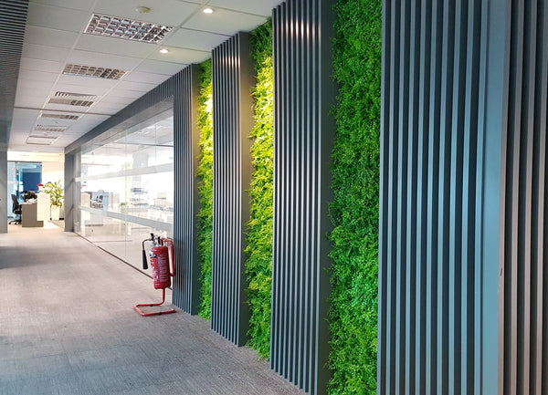Artificial Tropical Style Green Wall Panel (50cmx50cm) - A038