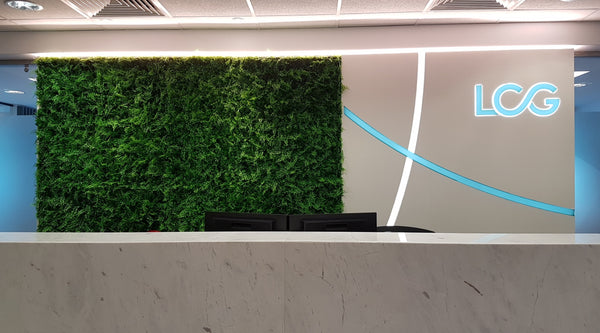 Artificial Tropical Style Green Wall Panel (50cmx50cm)