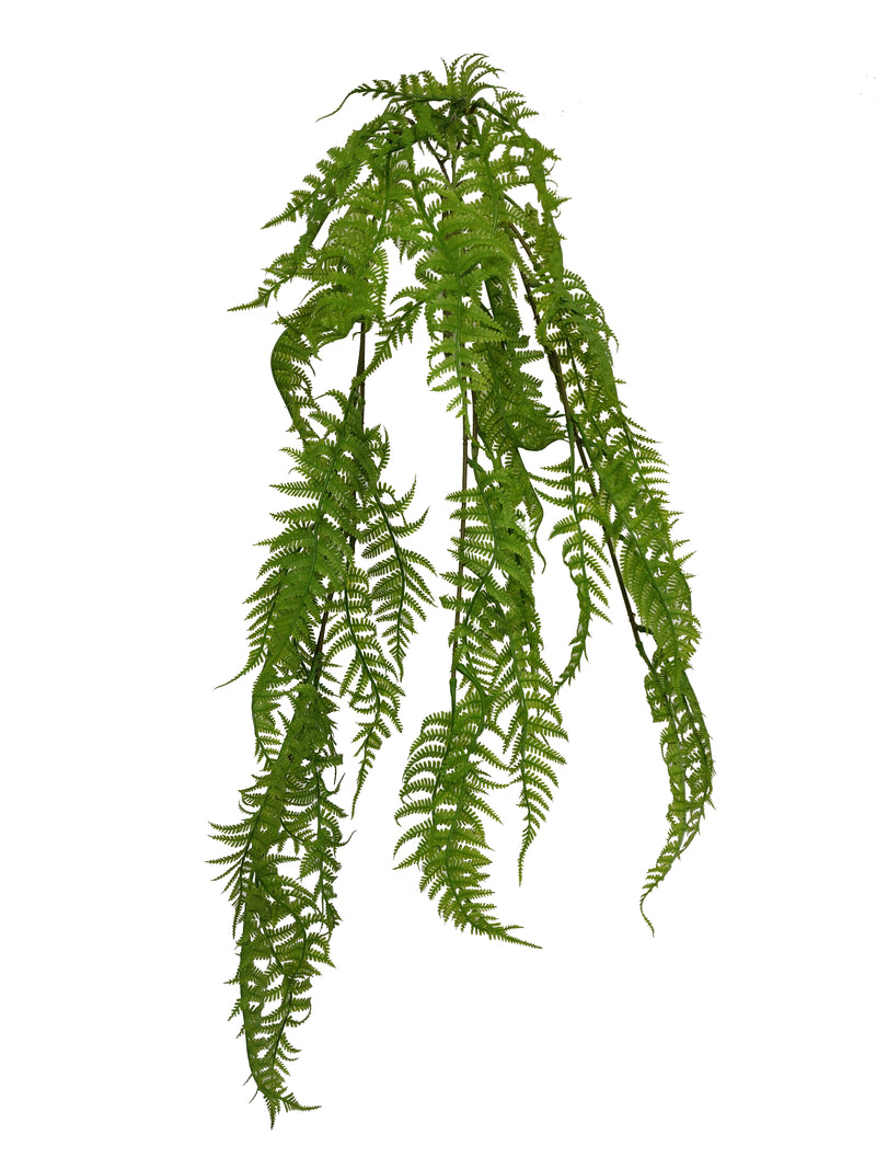 Artificial hanging asparagus fern (Length: 80cm) - With UV protection | BG058
