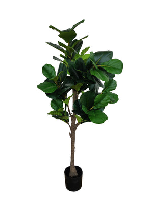 Artificial Fiddle-Leaf Ficus Tree (Height: 160cm) - NAL19-0074