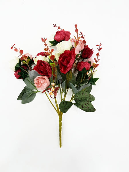 Artificial Rose bouquet (Length: 30cm)