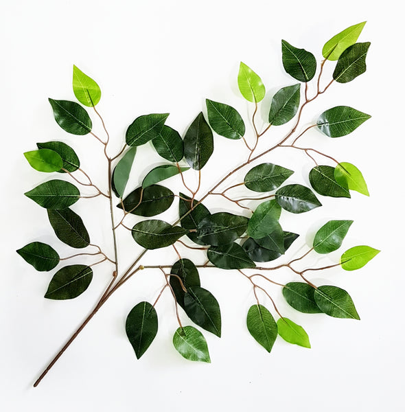 Artificial Ficus Branch