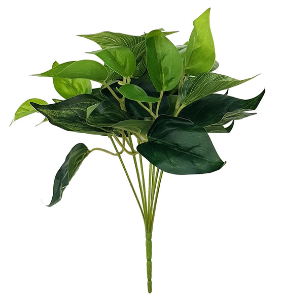 Artificial Philodendron foliage - LSG-020 (Length: 25cm)