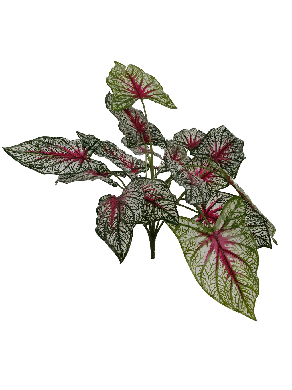 Artificial Red Syngonium Branch (Length: 40cm) - DS07