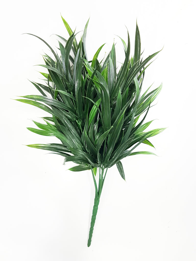 Artificial Pandan leaf dark green foliage - G0680D032 (Length: 30cm)