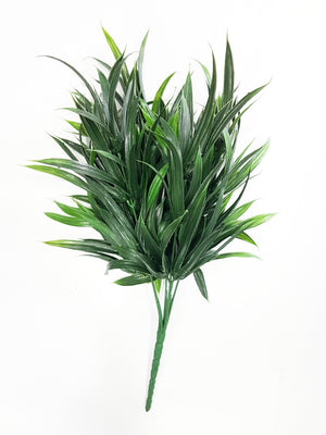 Artificial Pandan leaf dark green foliage (Length: 30cm) - With UV protection | G0680D032