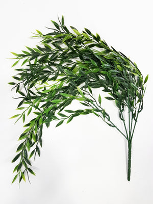 Artificial hanging fork fern (Length: 50cm) - With UV protection | G0680D003