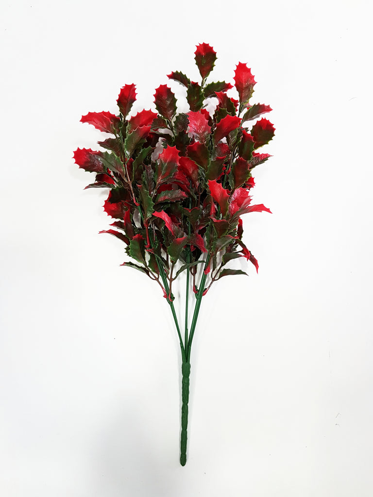 Artificial red/green foliage branch - G0680D037
