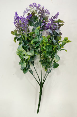 Artificial Lavender foliage (Length: 33cm) - With UV protection | D014