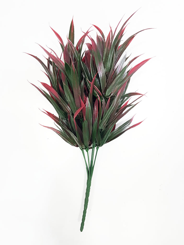 Artificial red/green foliage - G0680D032