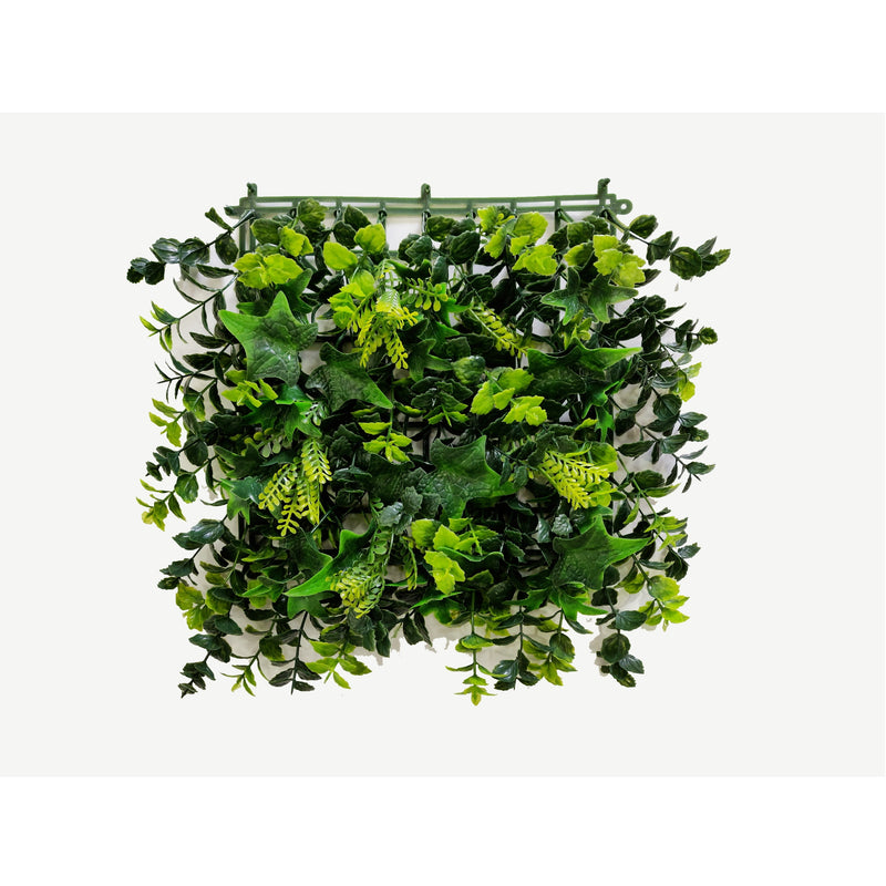 Artificial Spring Blooming Green Wall Panel (50cm x 50cm) - With UV protection | A009