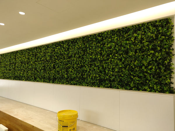 Artificial Spring Blooming Green Wall Panel (50cm x 50cm) - A009