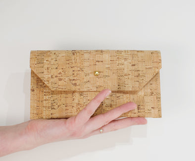 Cork Phone Clutch