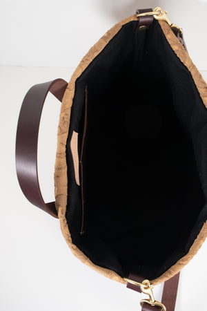 Waxed Canvas ARI Tote Bag