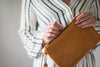"""Emily"" Leather Clutch"