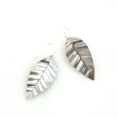 Medium Leaf Earrings