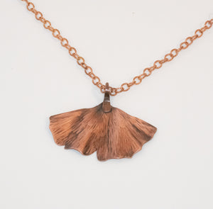 Ginkgo Leaf Necklace