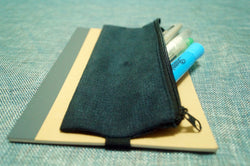 2 Freja pen holders x 2 Muji notebook (gray)