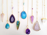 Adore Gemstone Collection - Aura Quartz Wand Necklace
