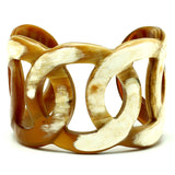 Charismatic Wanderlust Collection - Horn Bangle Ring of Fire