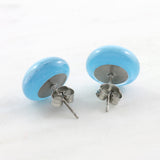 Kiln Fused Glass Stud Earrings