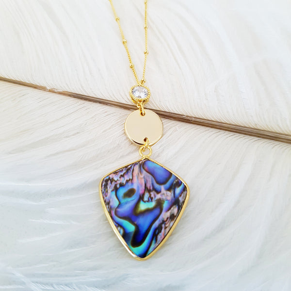 Adore Gemstone Collection - Abalone Dream Necklace